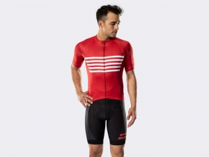 Koszulka BONTRAGER Circuit LTD Red Stripe