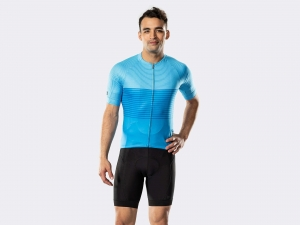 Koszulka BONTRAGER Circuit LTD Royal Blue Stripe