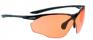 Okulary fotochrom ALPINA Splinter Shield VL black, szkła orange
