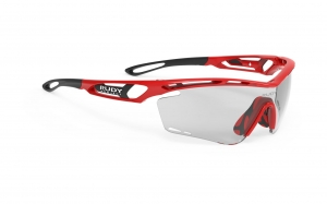 RUDY PROJECT  Tralyx Fire Red Gloss - ImpactX Photochromic 2 Black