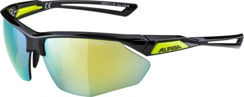 Okulary ALPINA Nylos HR black neon